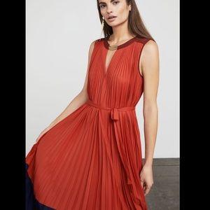 BCBGMaxAzria Dresses - NWT BCBG Adelaide Pleated Dress sz S